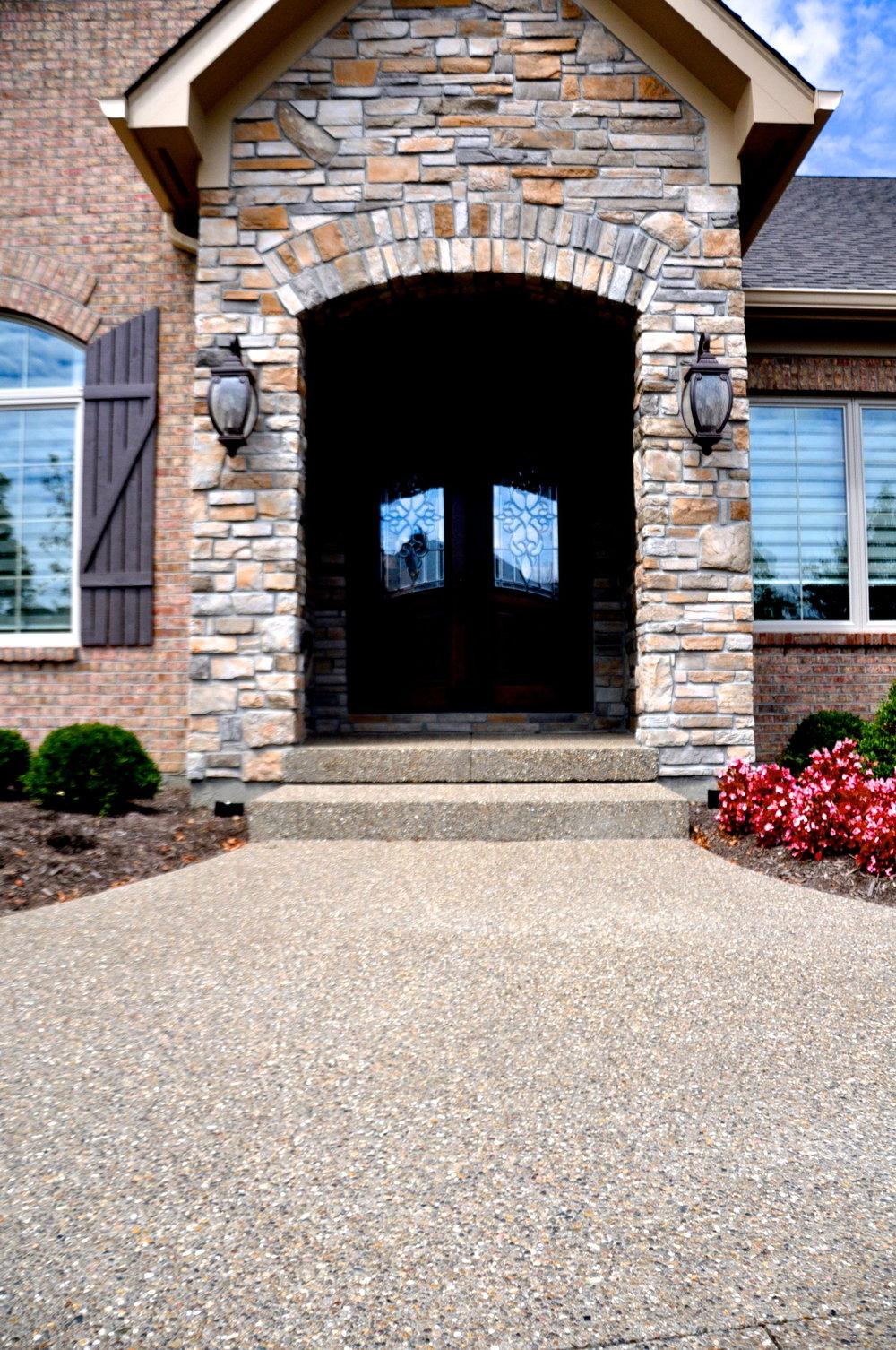 exposed aggregate front porch, landing, steps, sidewalk.jpg