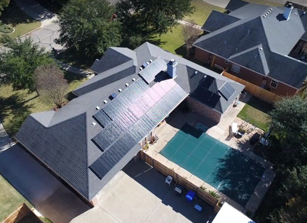 Envirosolar Power Home Solar Installation