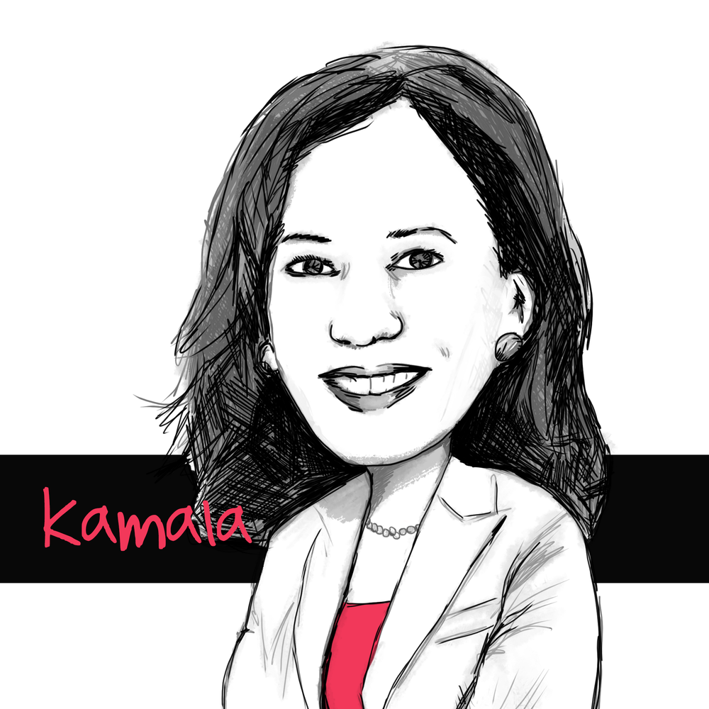 Kamala - Kamala Harris: For the people - https://kamalaharris.org