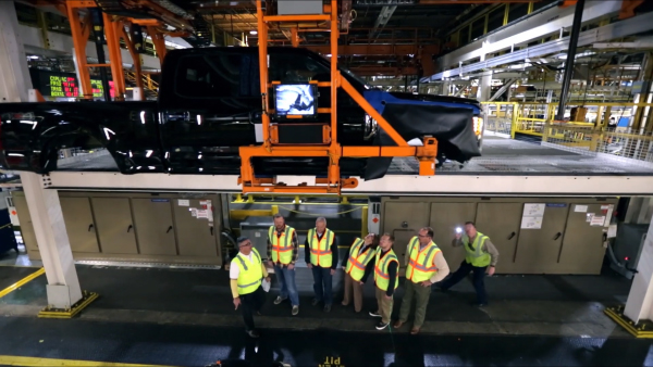 MANUFACTURING INNOVATION   FORD SUPER DUTY
