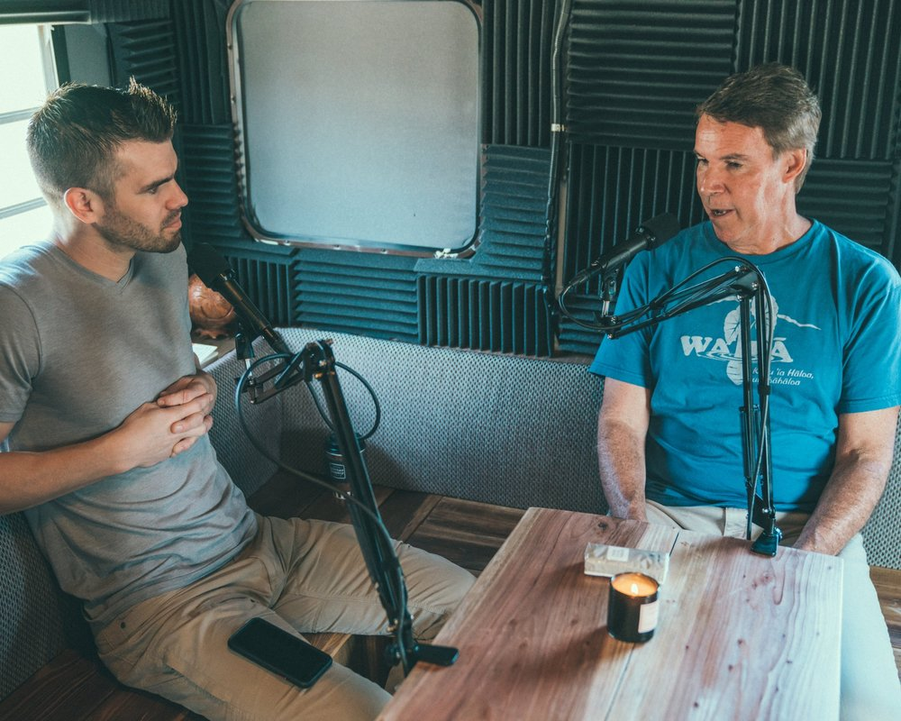 On our first trip - We recorded over twenty interviews in ten days.