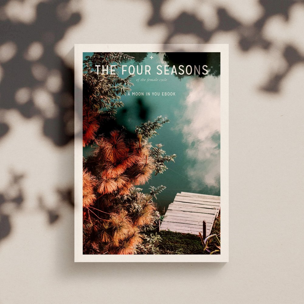 THE FOUR SEASONS - The Four Seasons of the Female Cycle is an insightful look into the patterns of our menstrual cycle. Awareness of this pattern can significantly reduce mood swings and in some women anxiety. Imprinting our emotions on the tracker inside the e-book will identify the pattern of behaviour our hormones have created over time. A sense of relief comes into play as we step into your higher self with the knowledge that hormones, significantly affect mood and behaviour. Awareness is the key to change.