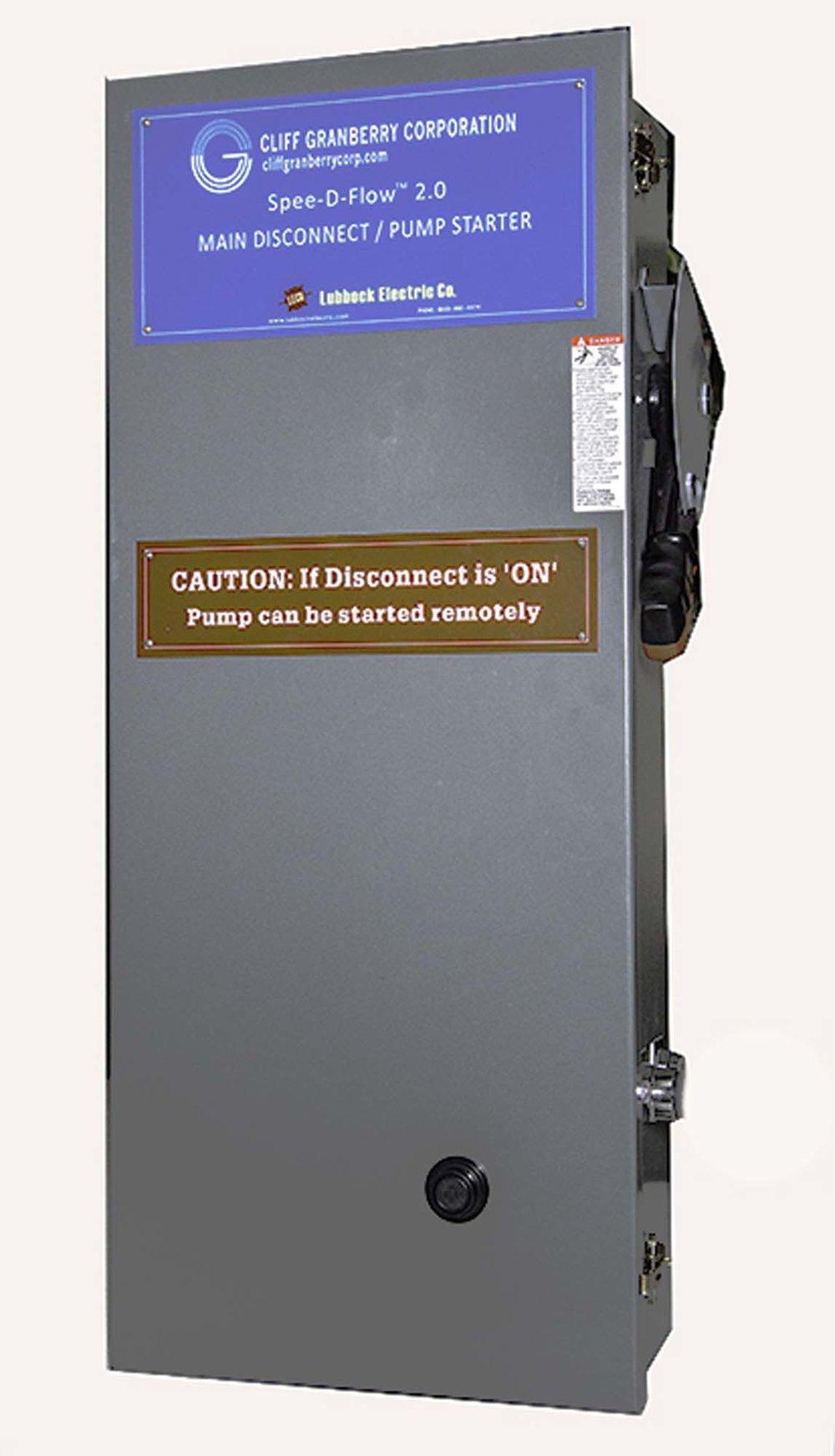 Hydraulic Pump Start Main Control