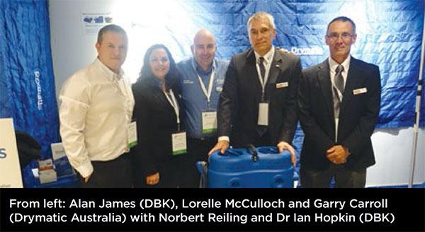 DBK Drymatic Team with Drymatic Heat Drying Australia