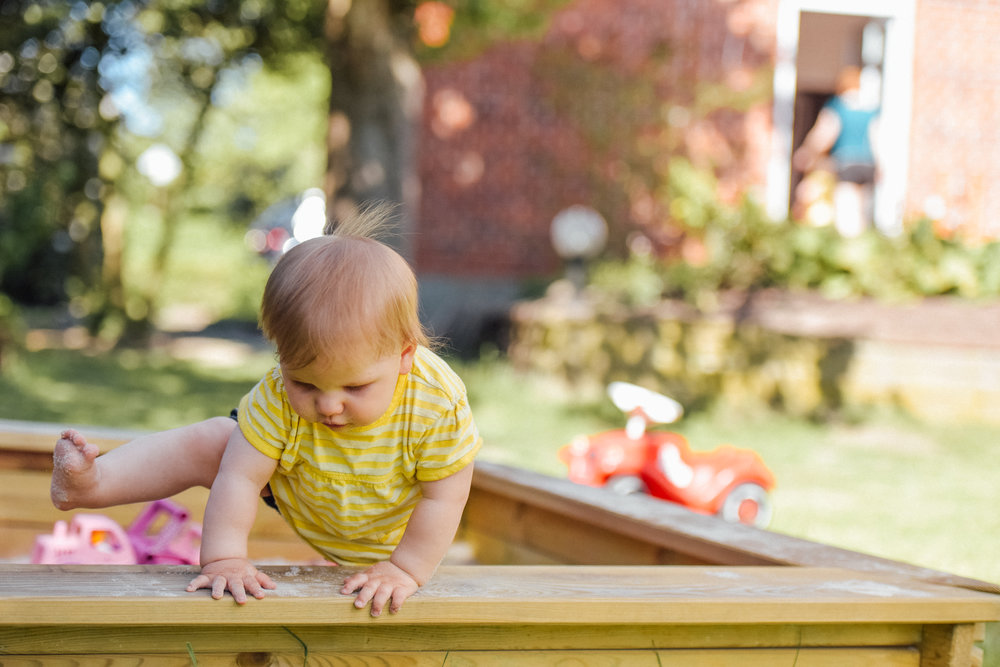 Babies & Toddlers - Babies and toddlers safely explore the world around them, using and practicing their senses.