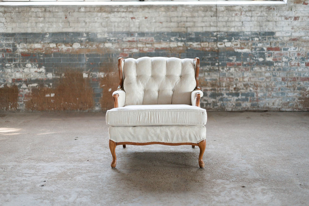 Jack Armchair in Ivory Tuft