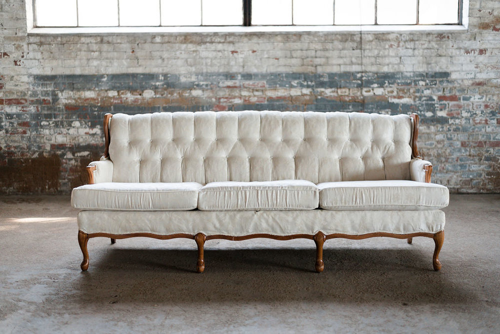 Jill Sofa in Ivory Tuft