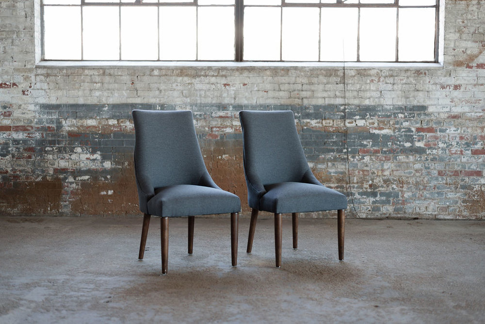The Deans - Upholstered Chairs in Grey