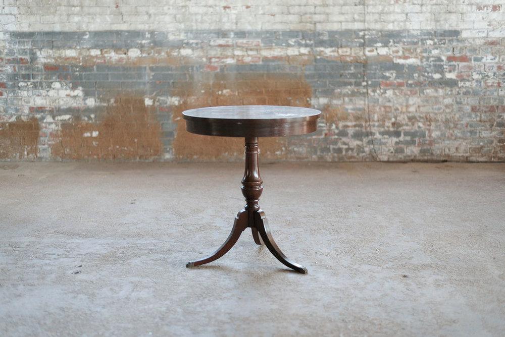 Simon End Table - Vintage Wood