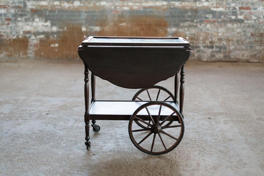 Vintage Tea Cart - Wood