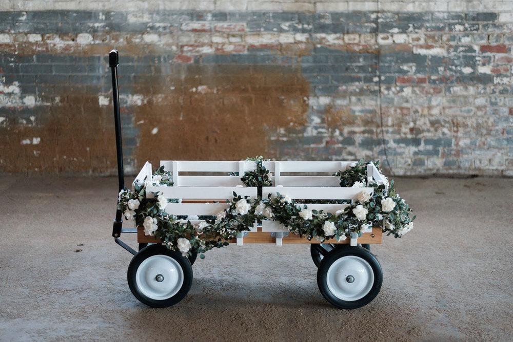 Wagon - White