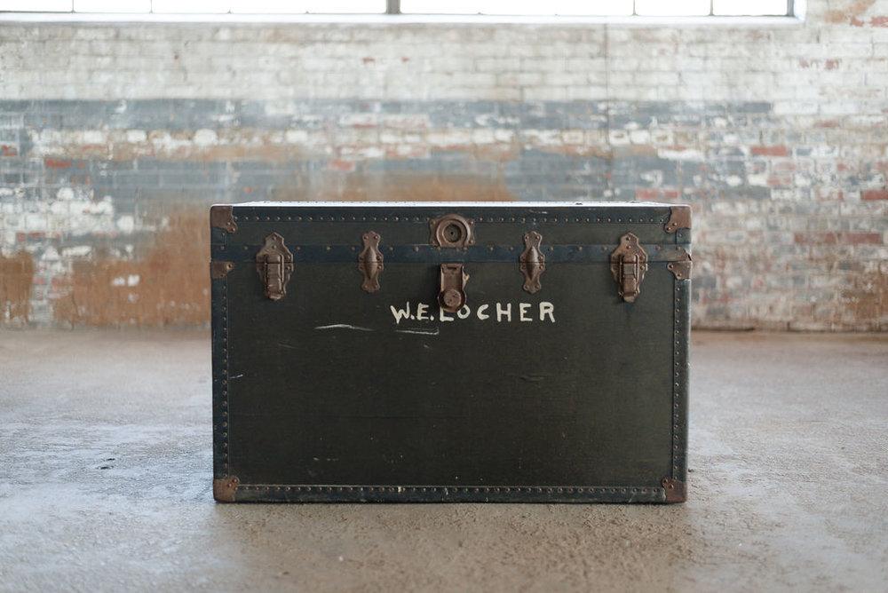 WW2 Footlocker - Trunk