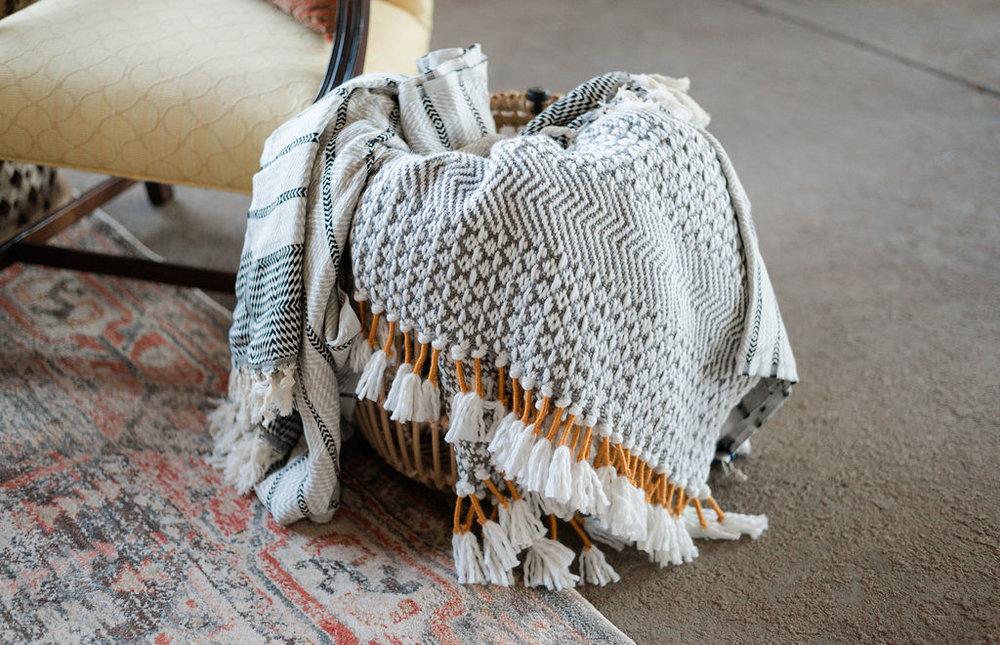 Boho Blanket Set