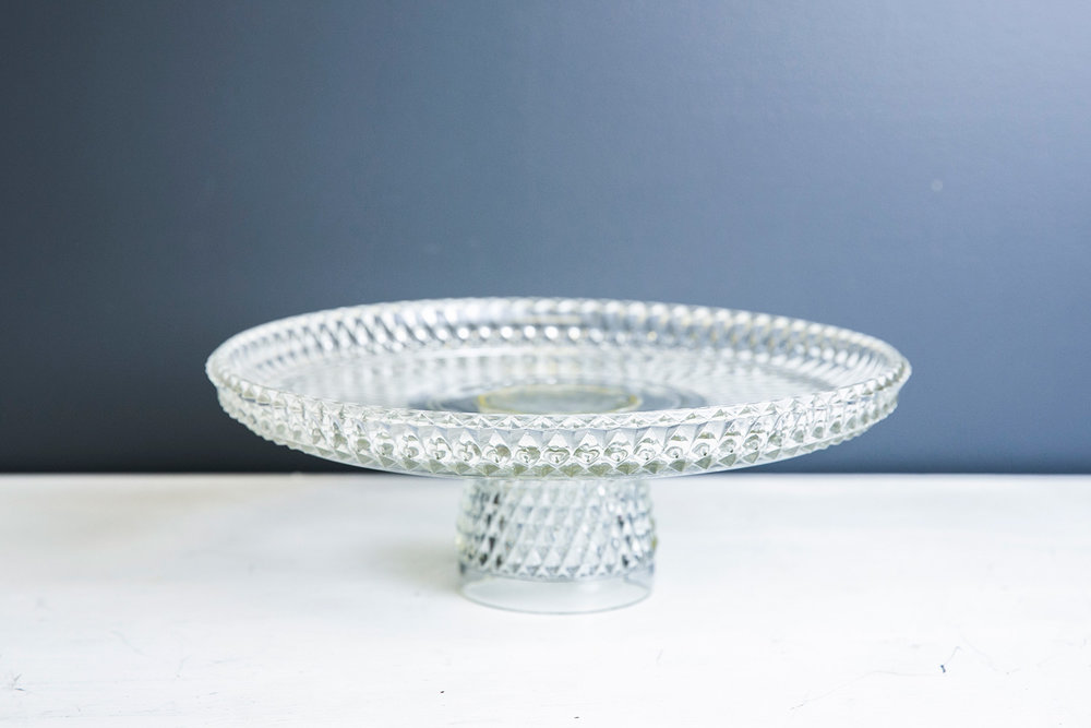 Shelby-Cake-Stand---Vintage-Glass