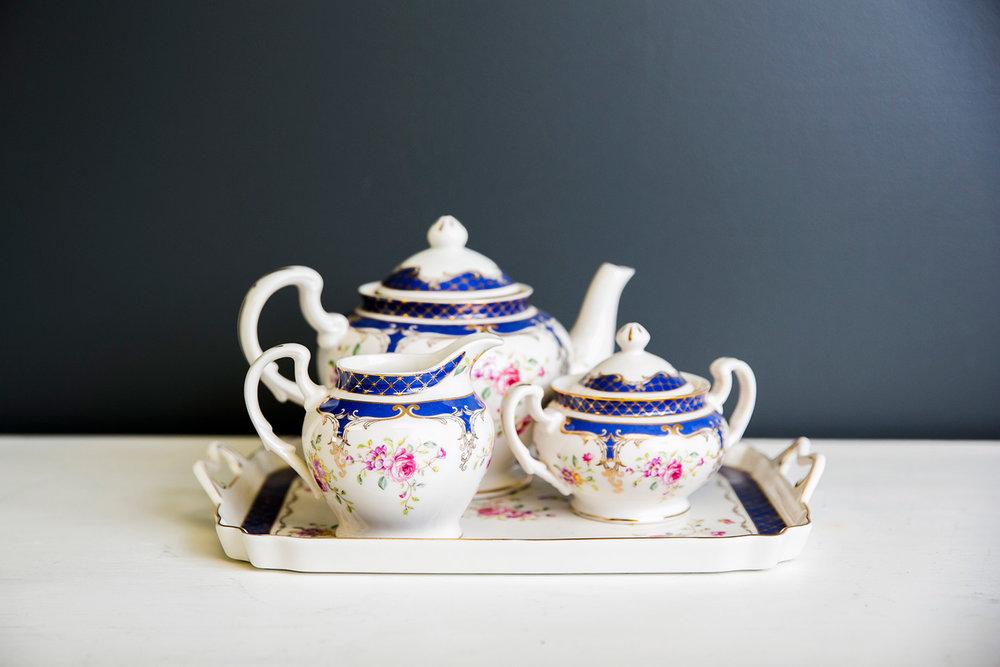 Grace Rose Tea Set