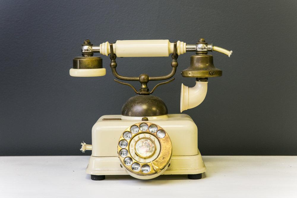 Victorian Telephone - Ivory