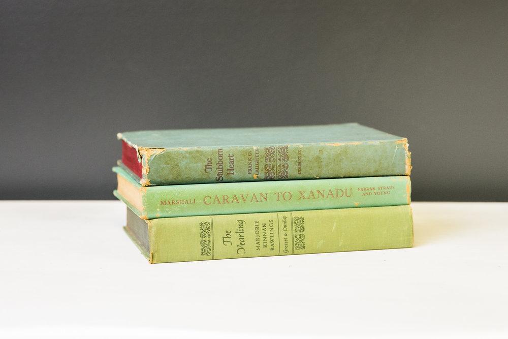 Books - Greens