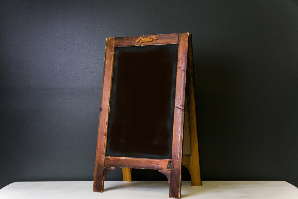 Bennet A-Frame Chalkboard 25 x 17 (Quantity 2)