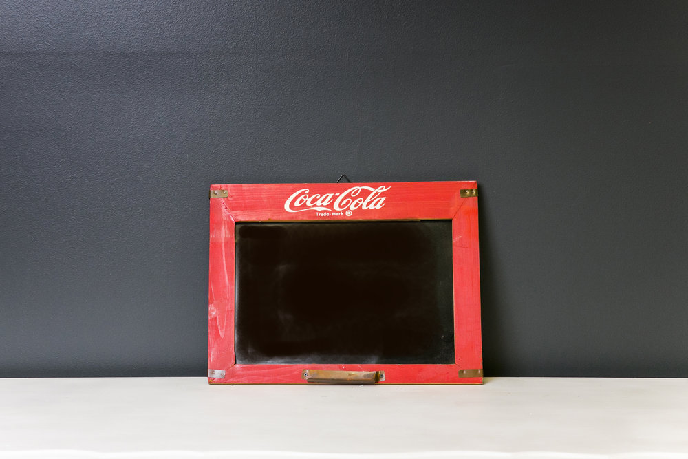 Southern Charm Events Chalkboard #203 (Coca Cola)