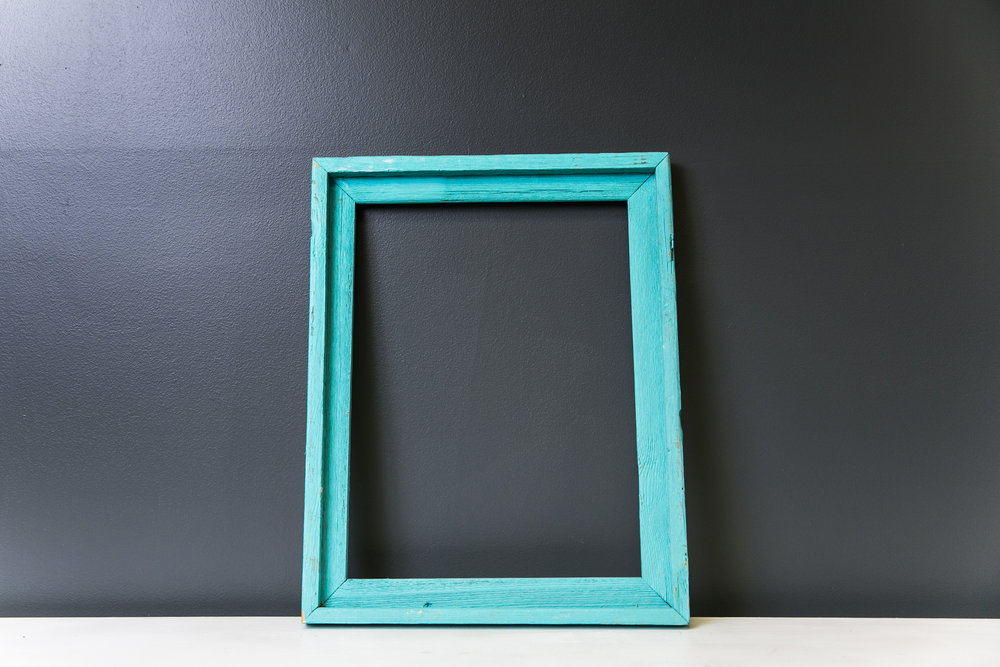 Arlington Rustic Blue Frame 19 x 15