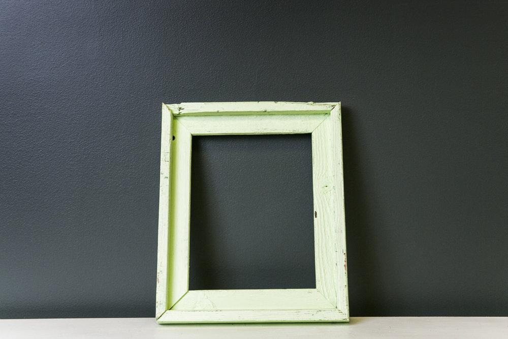 Arlington Rustic Mint Frame 13 x 11