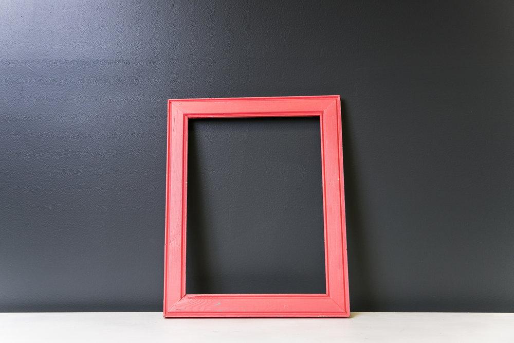 Arlington Rustic Pink Frame 16.5 x 12.5