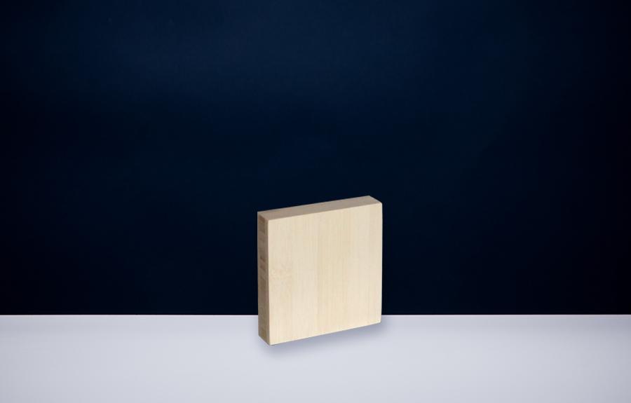 Bamboe 100 x 100 x 20 mm   Afmeting tombstone: 100 x 100 x 20 mm  Prijs per stuk € 25,00 | Art. B201