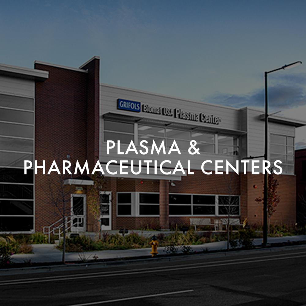 Plasma & Pharmaseutical Centers