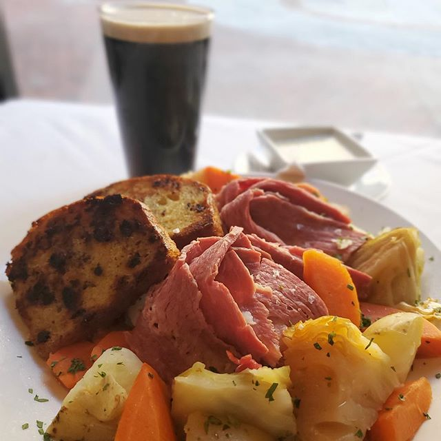 Let the Celebrations Commence! 🍀 $10 Guinness Supermugs 🍀 Corned Beef & Cabbage 🍀 Irish Coffee 🍀 PATIO OPEN! 🍀