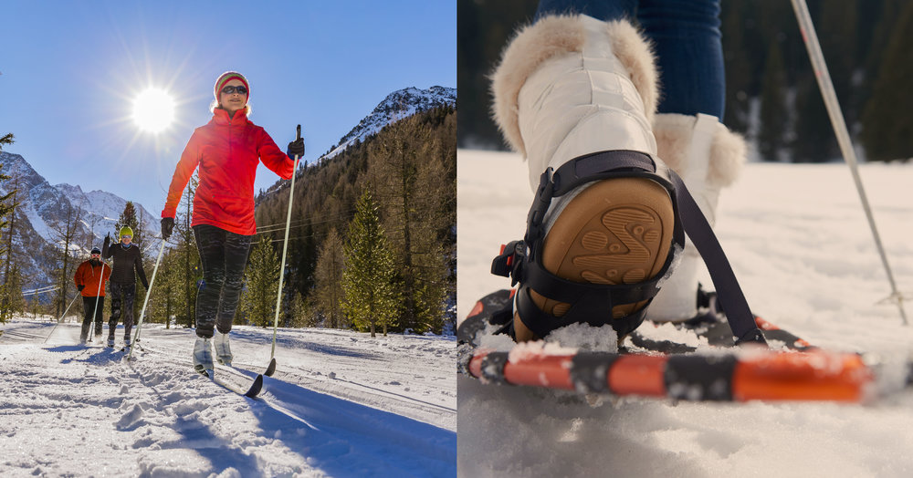 Cross Country & SnowShoes - Rent or Buy