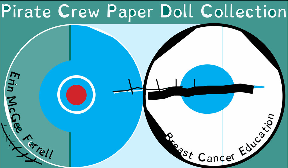 Pirate Crew Paper Dolls