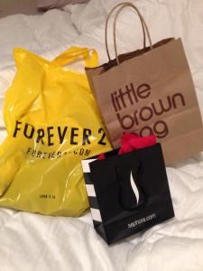 shopping, sephora, forever 21