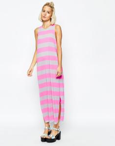 cheap monday candy stripe maxi dress