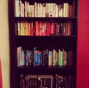 books bookshelf