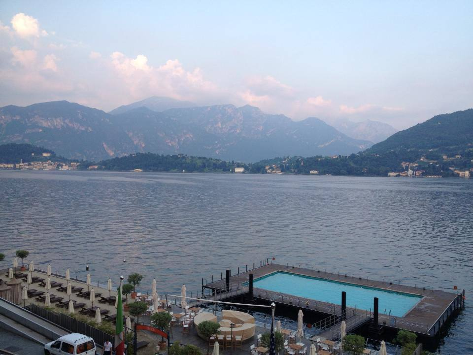 View of Lake Como from the Grand Tremezzo Hotel