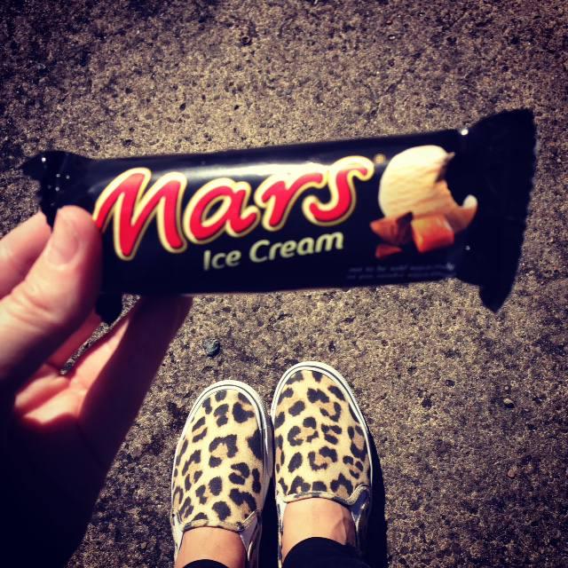 mars bar ice cream