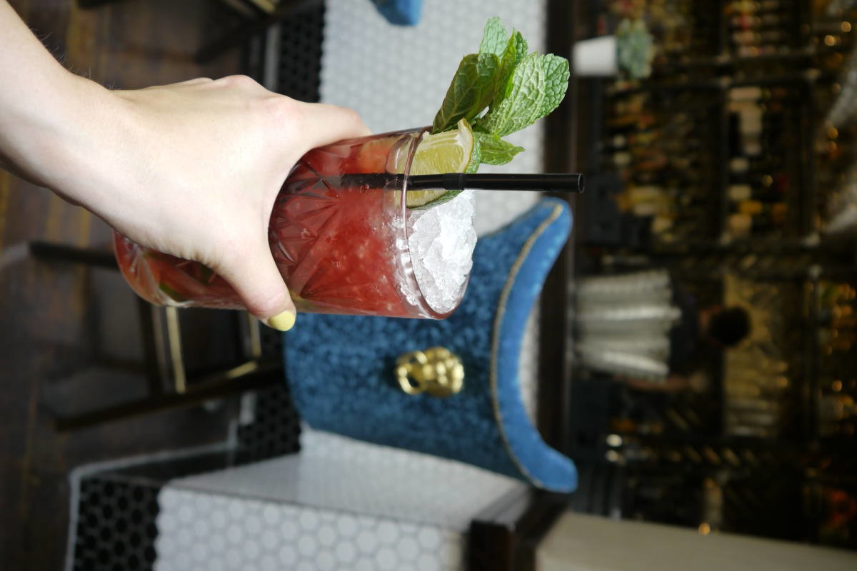 #thecitygirls leeds blogger event cocktail