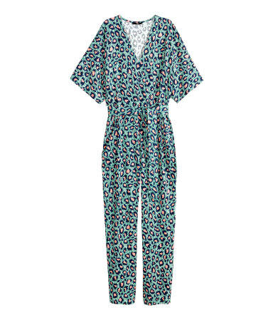 hm patterned jumpsuit