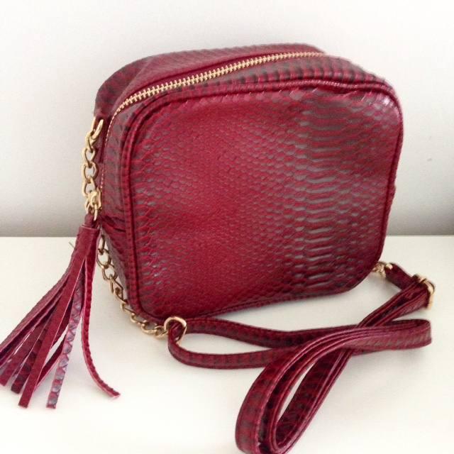 primark snakeskin bag