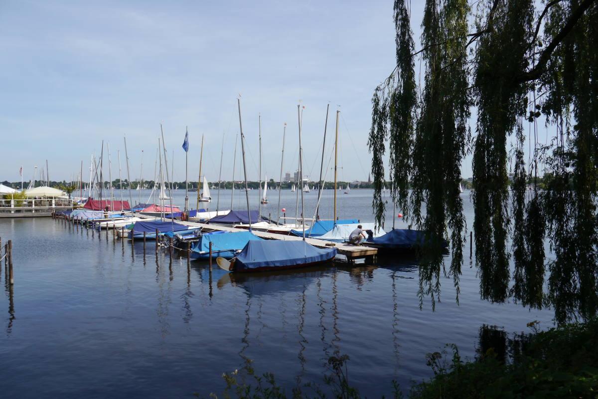 hamburg travel guide alster lake
