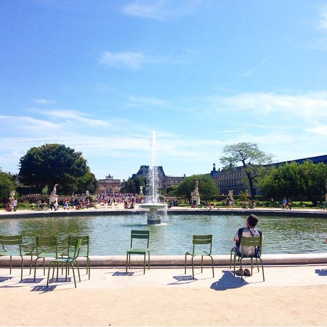 jardin du tuileries paris