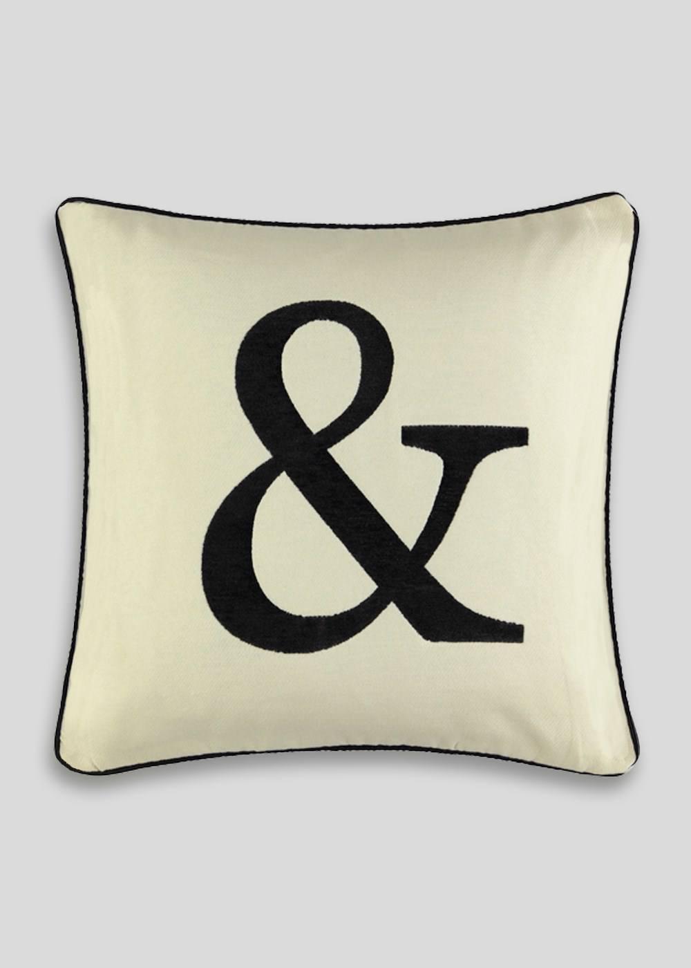 matalan letter and alphabet cushion