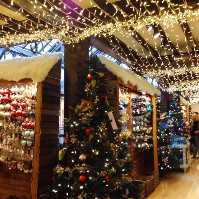 liberty london christmas shop