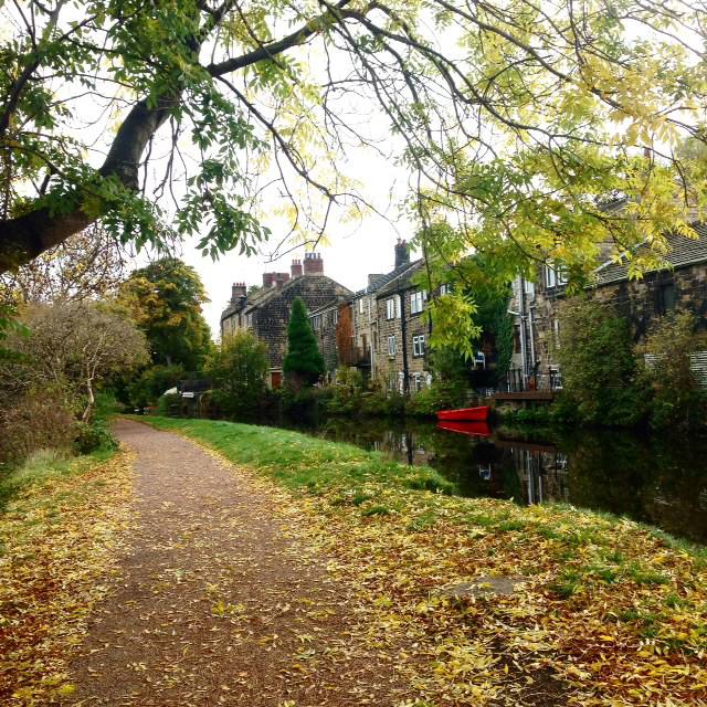 rodley leeds canal autumn fall