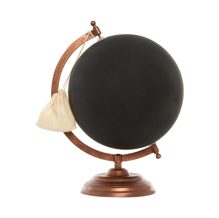 george home chalk globe