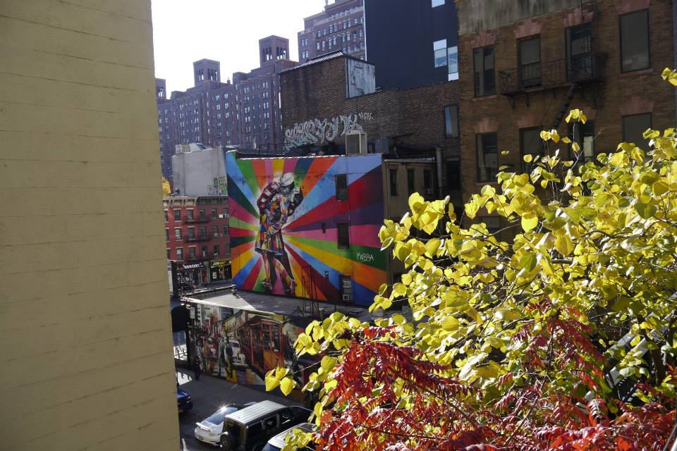 street art high line new york city