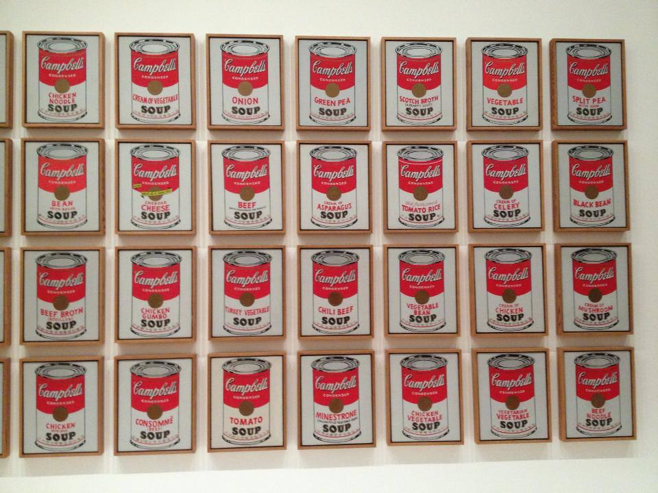moma soup cans campbells andy warhol