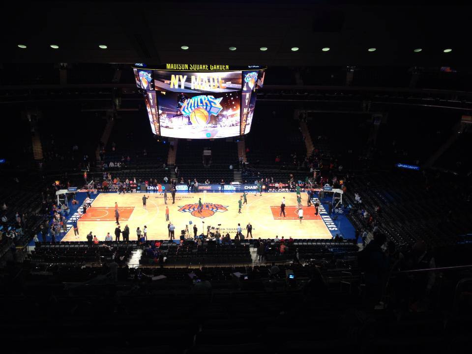 knicks ny basketball madison square garden