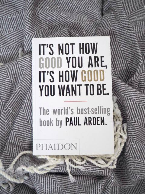 its not how good you are its how good you want to be