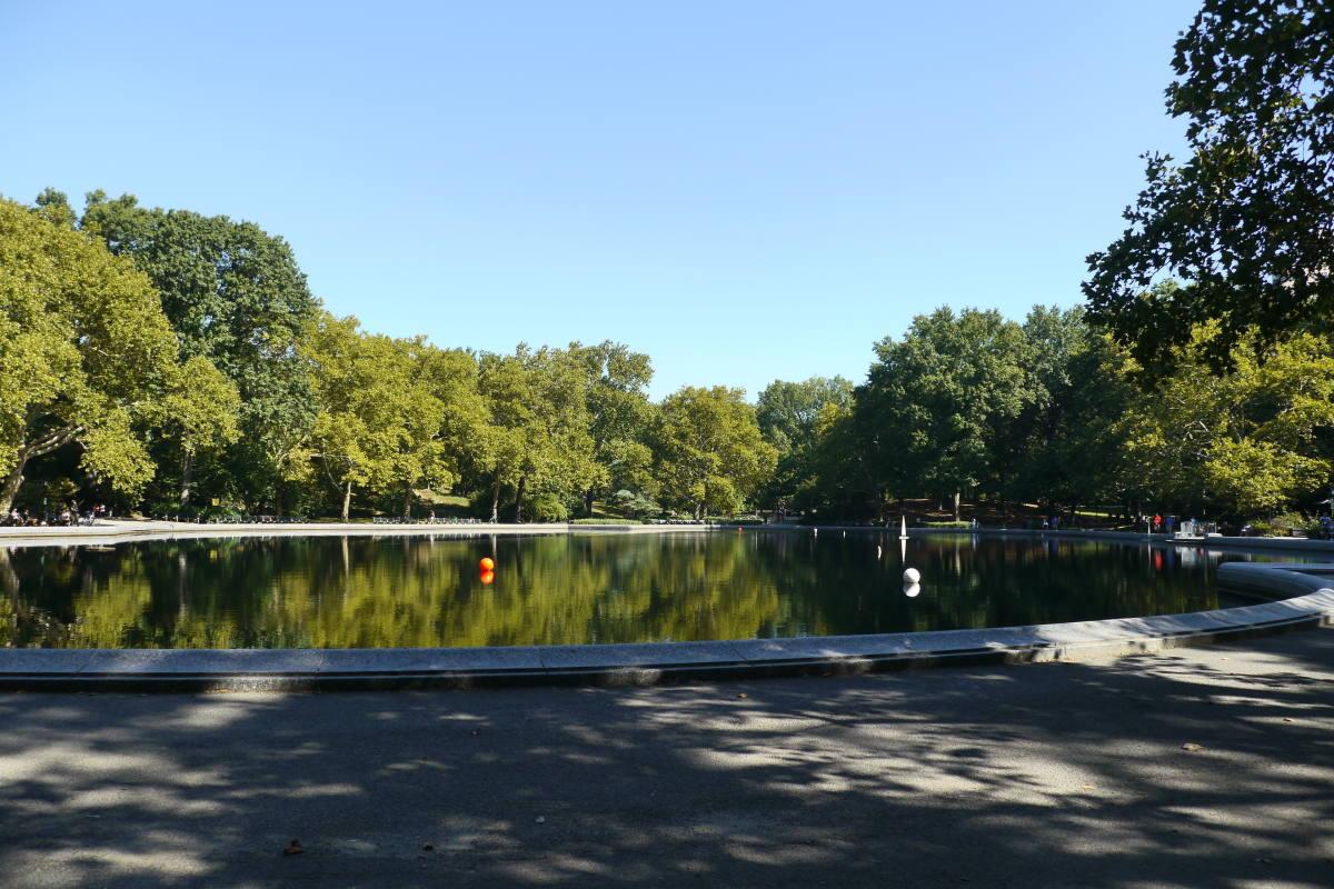model boat pond central park